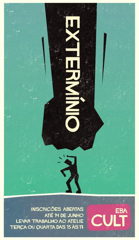 cartaz graphic poster art design