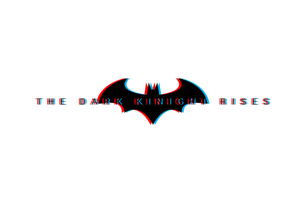 Batman The Dark Knight Rises In 3D Style
