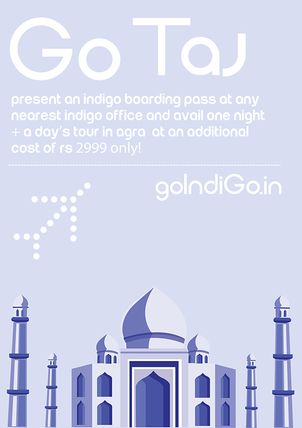 Indigo Airlines Advertising Campaign On Behance