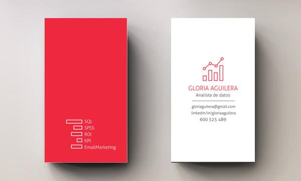 Data analyst business card on behance thank you colourmoves