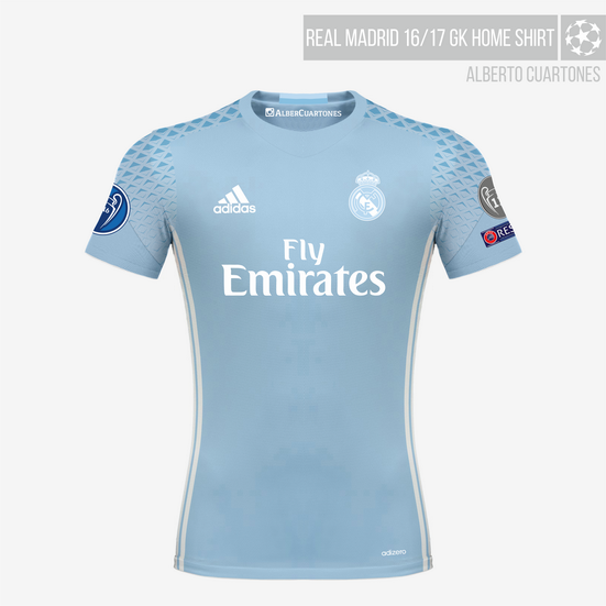 wholesale dealer a2433 f833b Real Madrid 16/17 Kits on Behance