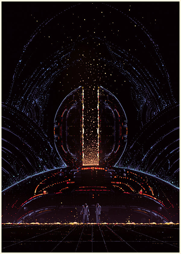 surreal  sci-fi futuristic dw design Kilian Eng
