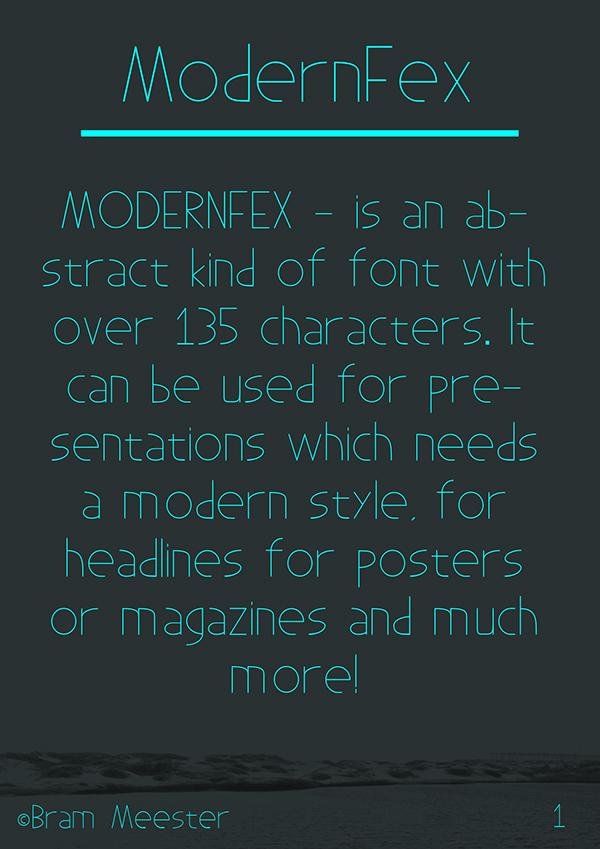font free School Project modern design