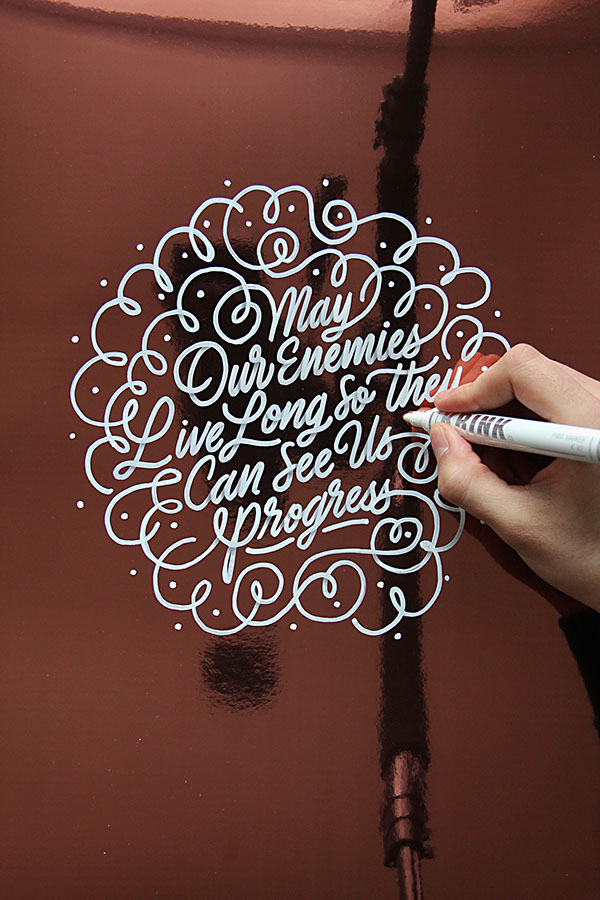 2015 Lettering Calligraphy Selection On Typography Served