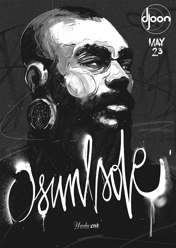OSUNLADE - music poster by PWEE 3000