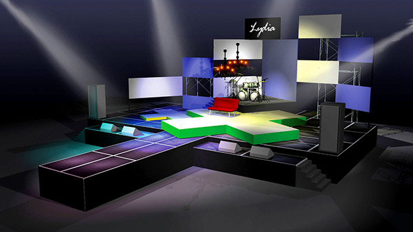 Concert Stage Design Ideas youthful pallets Stage Design Concert Show Production