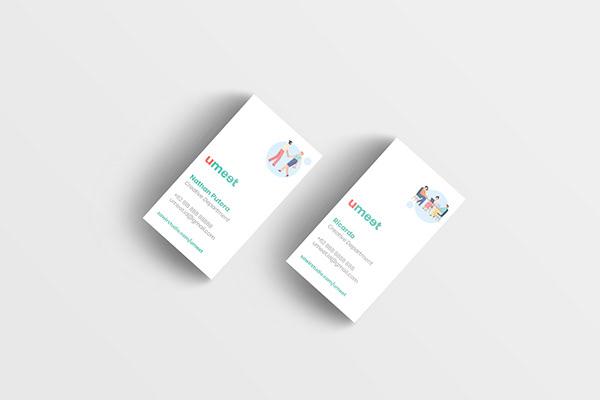 2 Umeet's Business Cards Designs