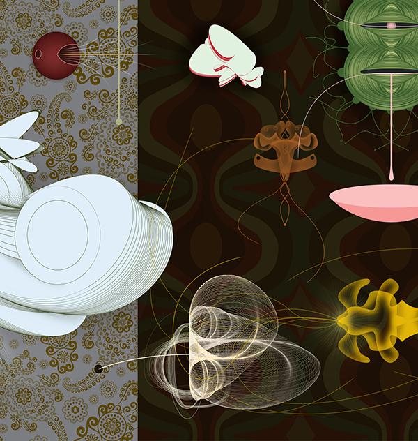 Six Fing Thing prints James Cobb  visual art graphics