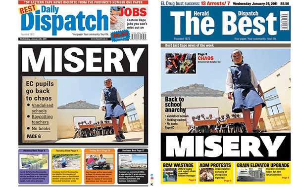 Newspaper photo essays and layouts on behance my layouts are the ones on the right voltagebd Image collections
