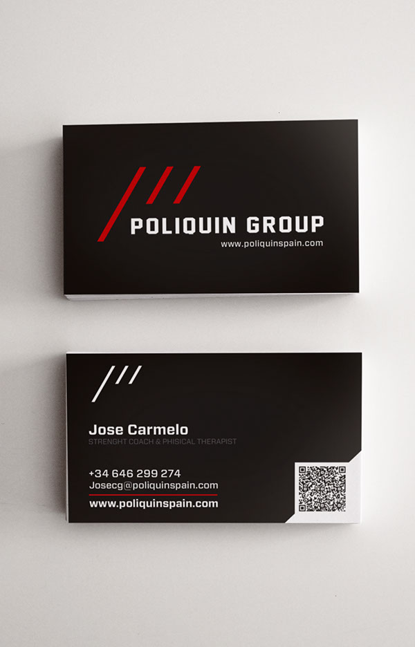 Business Card Personal Trainer On Wacom Gallery