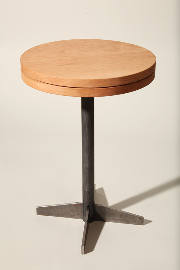 Swivel Side Table ~ Swivel side table on risd portfolios