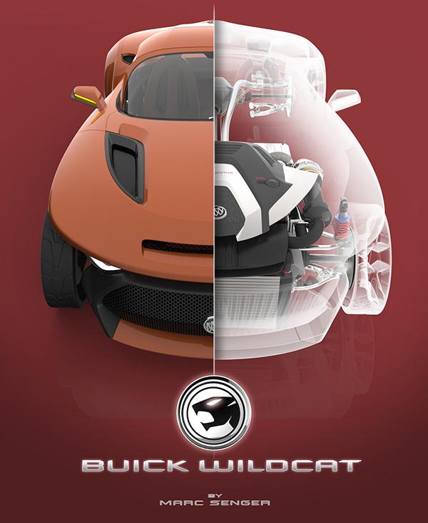 Buick Wildcat V8 Engine: Buick Wildcat Concept On Behance