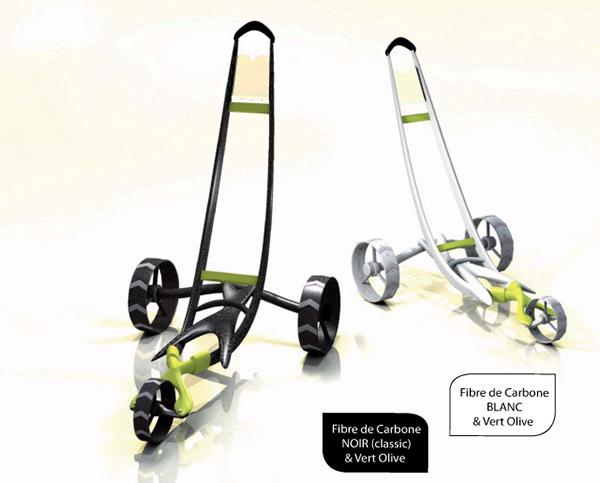 design prospectif chariot de golf on behance. Black Bedroom Furniture Sets. Home Design Ideas
