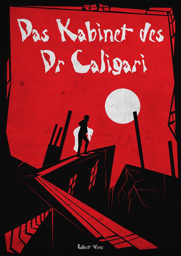 Das Kabinett Des Dr Caligari on Behance