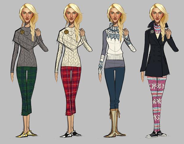 Costume Design Character Analysis : Powerstar golf character costume design on risd portfolios