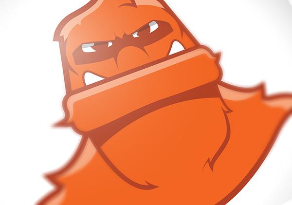college sports athletics logo Mascot brand redesign Keystone College