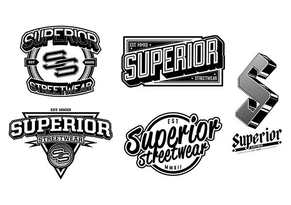 LOGO : Superior Streetwear Clothing Co. on Behance  LOGO : Superior...