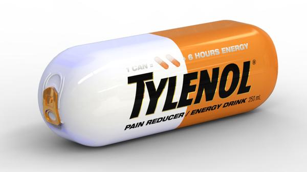 Energy Drink Adn Acetaminophen
