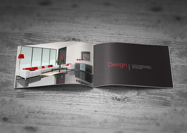 Company profile brochure interior design on behance for Interior design company