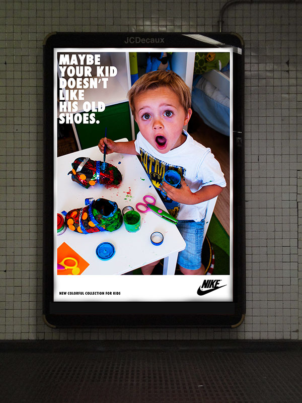 Nike collection for kids on Behance