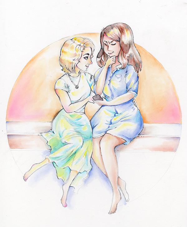 watercolor LGBT