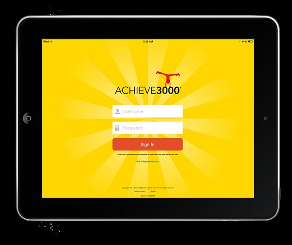 Achieve 3000 iPad App on Behance