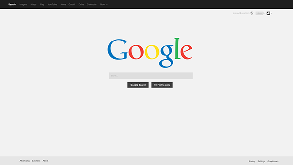 google home page design. google home page design