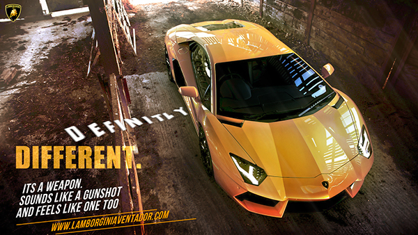 Lamborghini Aventador And Adv1 Tyre Ad Posters On Behance