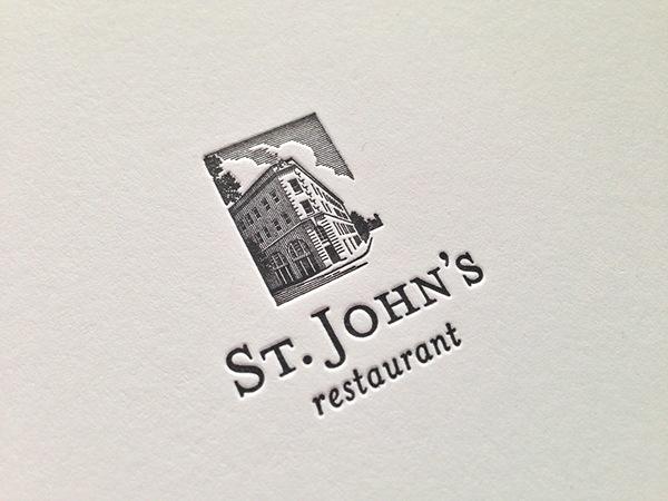 New Logo Concepts for St. John\'s Restaurant on Behance