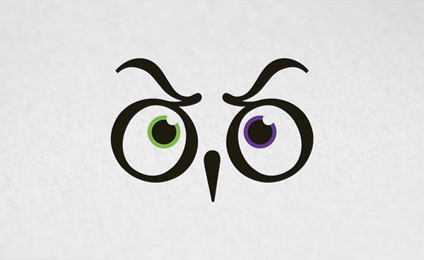 visual identity library owl