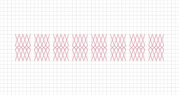 murid rahhal type font geometric geometry grid math modern square align aligned alignement