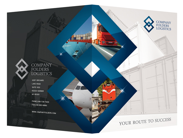 Free blue diamond logistics corporate folder template on behance free blue diamond logistics corporate folder template on behance wajeb Choice Image