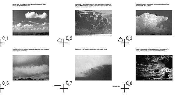 installation,hanging volume,informational clouds