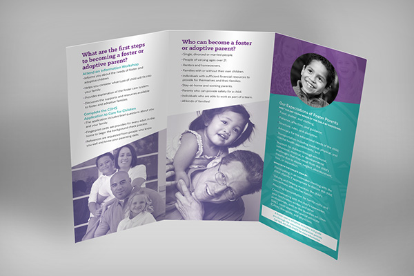 Foster Care Home Recruitment Brochure On Student Show