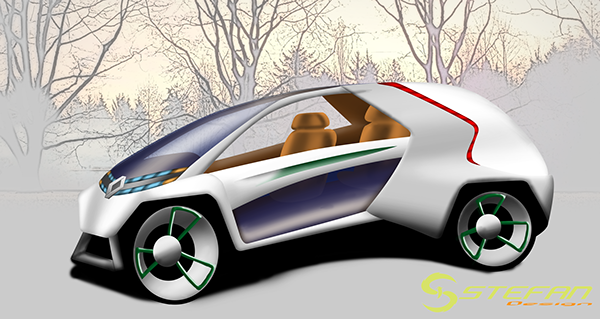 new vehicle renault strate Ecole2Design