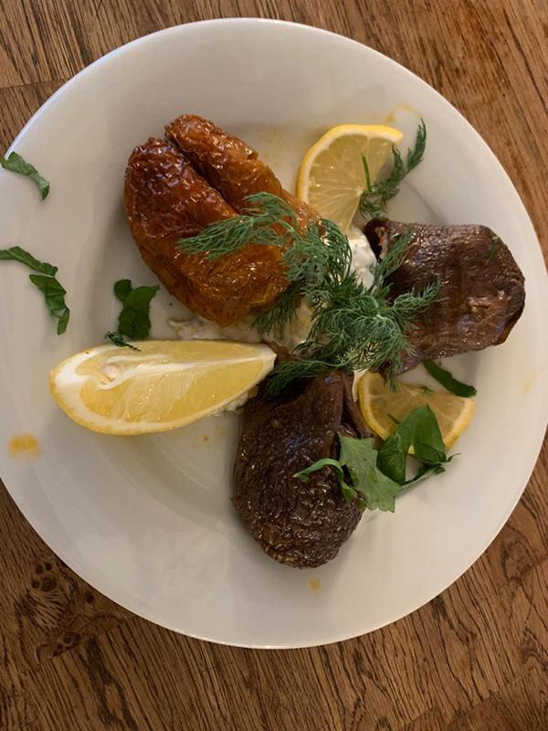 Plats et desserts - Restaurant Derya