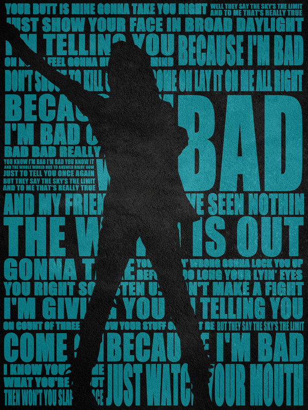 Michael Jackson Lyrics! on Behance