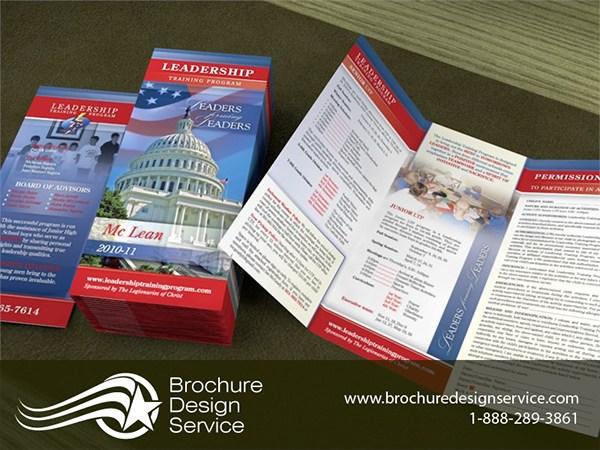 tri fold brochure sample template education on pantone canvas gallery