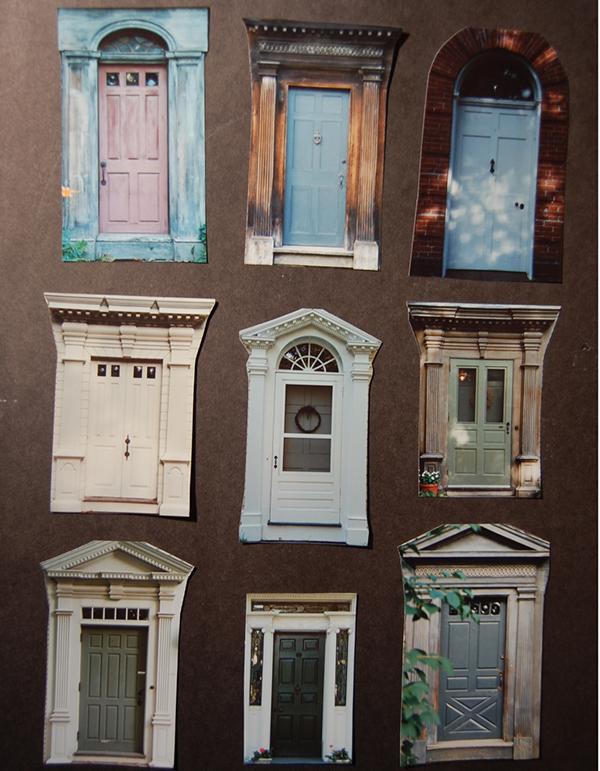 The \u201cDoors of Deerfield\u201d print has been a project in the process for over twenty years. Inspired by a photography print entitled \u201cDoors of Dublin\u201d ... & Doors of Deerfield\