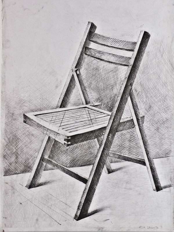 Chairs - drawing study on Behance