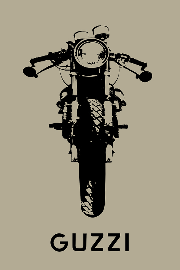 Moto Guzzi Poster on Behance