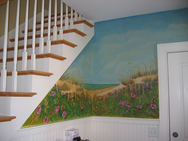 Cape cod murals on behance for Abri mural cape cod