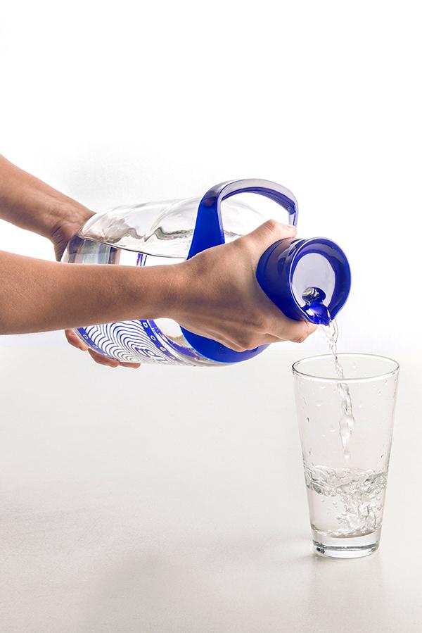 water bottle Gumus istanbul Turkey ypsilontasarim ypsilon tasarim decanter handle