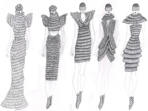 Conceptual To Actual The Fashion Design Process On Pratt Portfolios