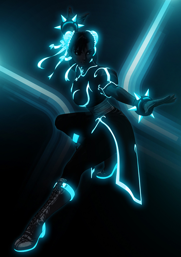 tron street fighter 2011 i messed with just for fun to tease the fact of E.honda is to mother F'n strong D   remember just a joke art  Taken - The E-Honda Story tecsolt soltography bosslogic ssfiv