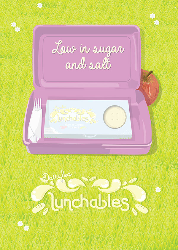 Dairylea Lunchables Rebrand on Behance