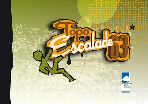 topo  guide  escalade  puy-de-dôme pao mise page edition graphisme design grimpe