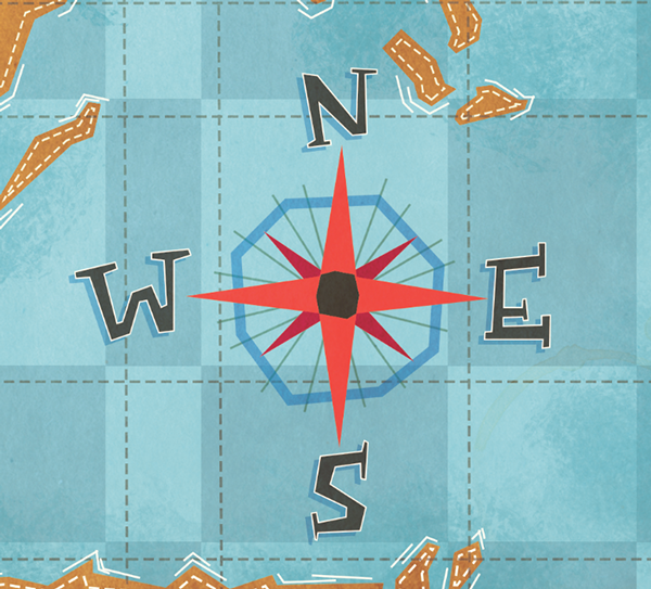 Go Visual-Spatial with Maps and Middle Grade Books
