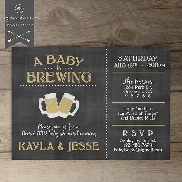 Chalkboard baby shower invitations on behance filmwisefo