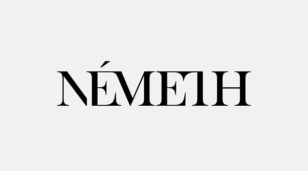 cool typography identity kiss miklos kissmiklos Lamp best typographic logo logo Logo Design nemeth Nice Logo  logotype